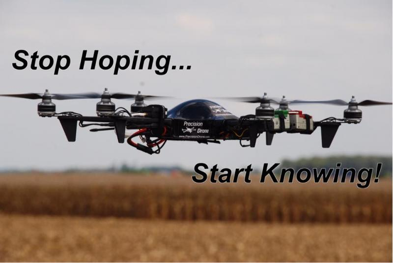 Aerial Indiana AgDrone Agriculture Drone UAV UAS Orthophoto Mapping Aerial